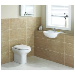 RAK Compact Back to Wall Cloakroom Suite