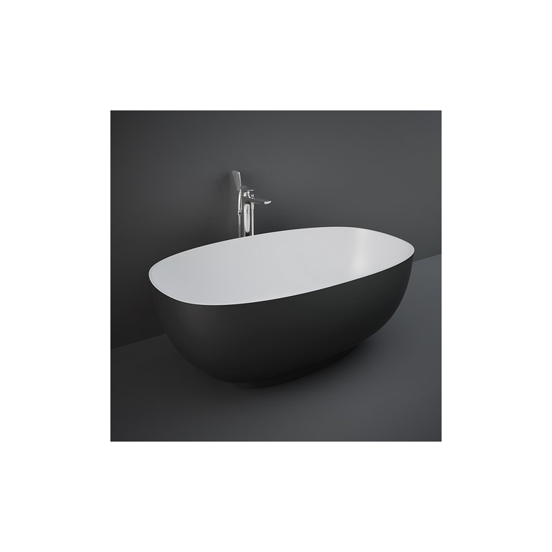 RAK Cloud Freestanding Bath Tub Black