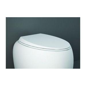 RAK Cloud Soft Close Urea Toilet Seat Gloss Alpine White