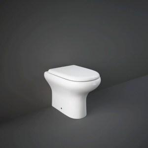 RAK Compact Back to Wall Pan & Soft Close Seat Alpine White