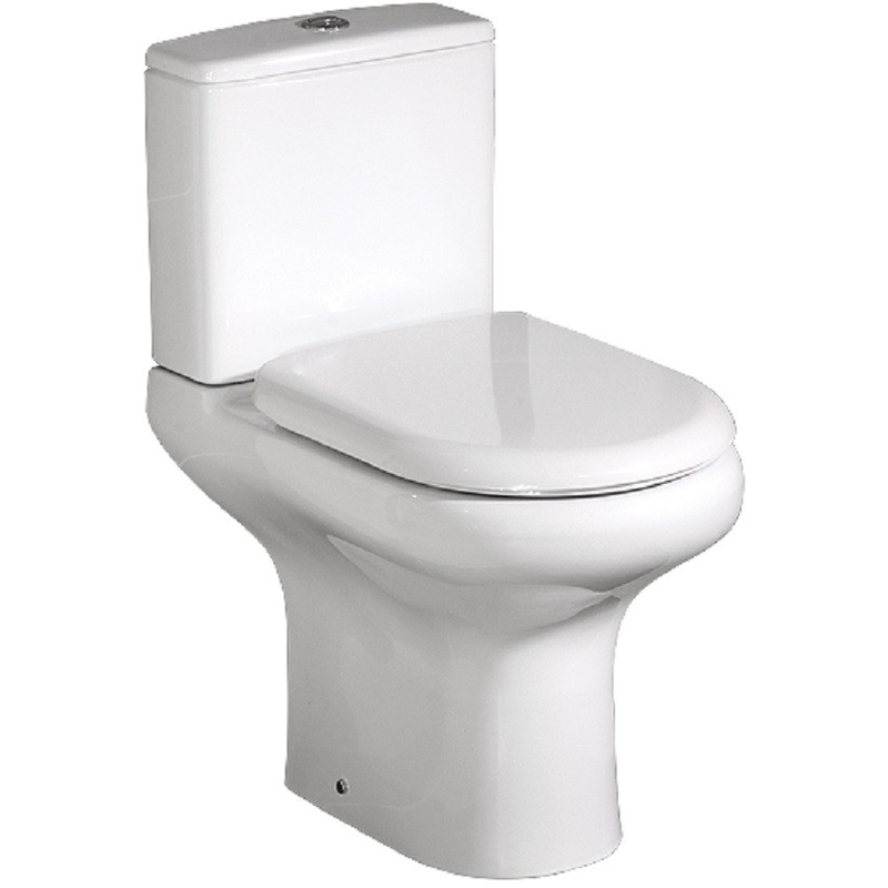 RAK Compact Full Access WC Pack with Soft Close Seat