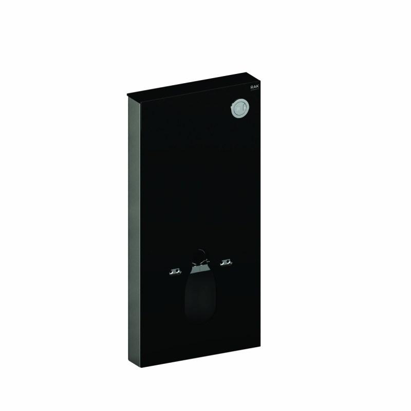 RAK Obelisk Cistern Cabinet for Wall Hung Pan Black