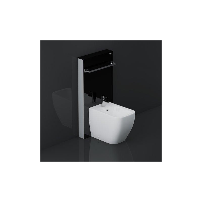 RAK Obelisk Cabinet Cistern for Back To Wall Bidet Black
