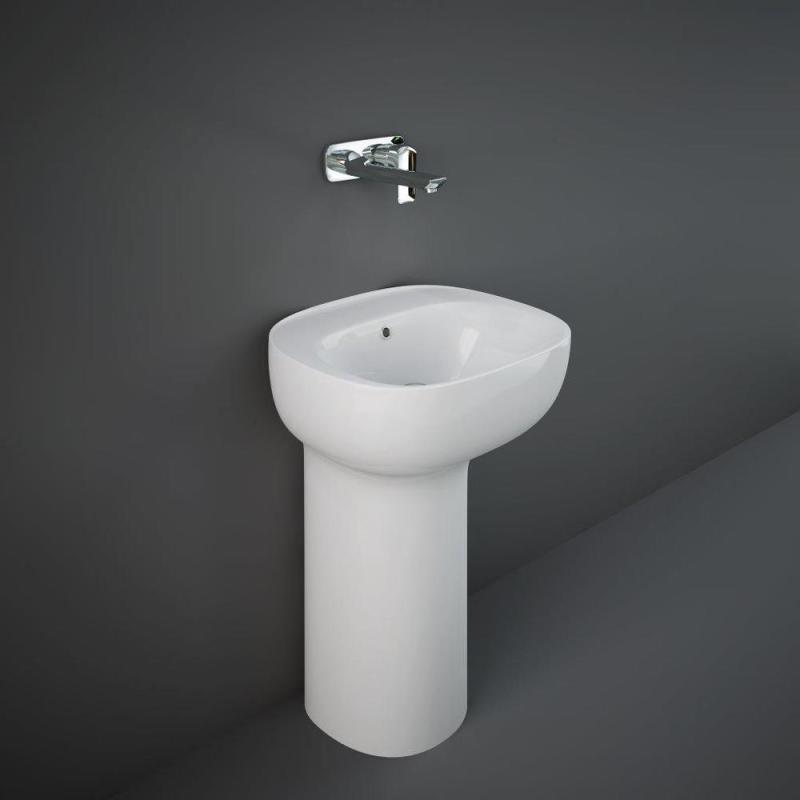 RAK Illusion Freestanding Wash Basin 54cm No Taphole