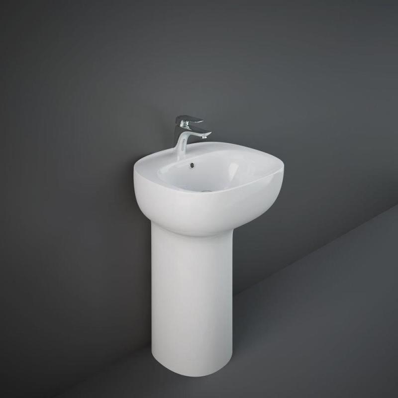 RAK Illusion Freestanding Wash Basin 54cm 1 Taphole