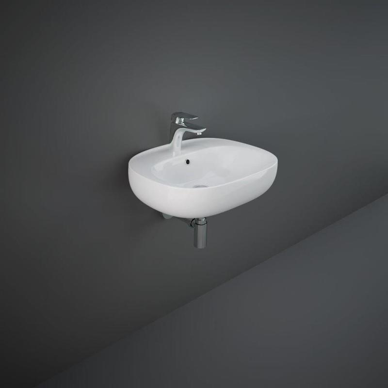 RAK Illusion Wall Hung Wash Basin 55cm