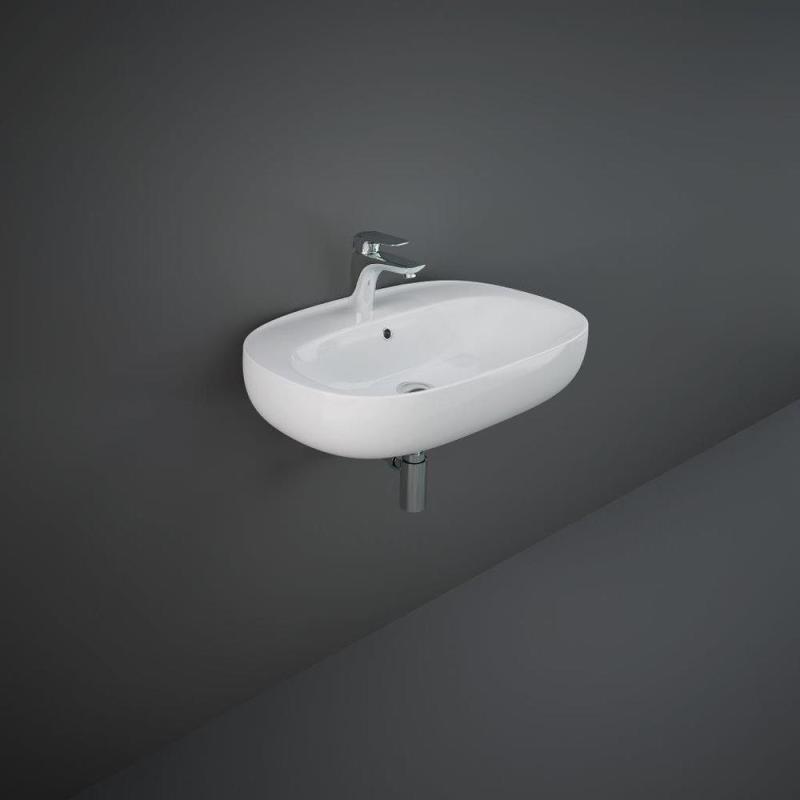 RAK Illusion Wall Hung Wash Basin 65cm