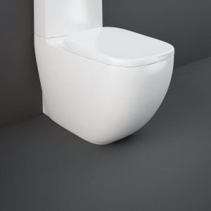 RAK Illusion Rimless Close Coupled Fully Back to Wall WC Pan