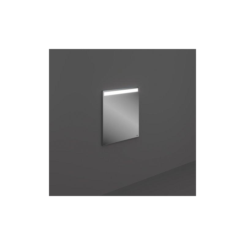RAK Joy Wall Hung Mirror with LED Light & Demister 60x68cm