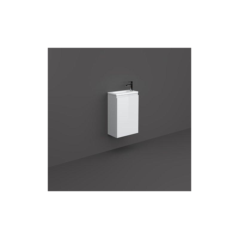 RAK Joy Wall Hung Vanity Unit 40cm Pure White