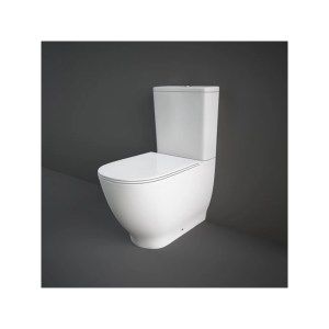 RAK Moon Rimless Back To Wall WC Pack with Soft Close Seat