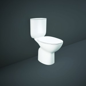 RAK Morning Full Access Rimless WC Pack with Soft Close Seat