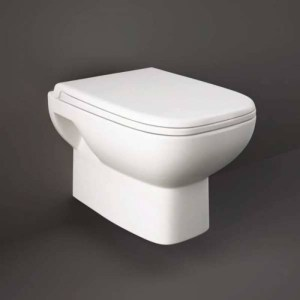 RAK Origin Wall Hung Pan with Soft Close Urea Seat