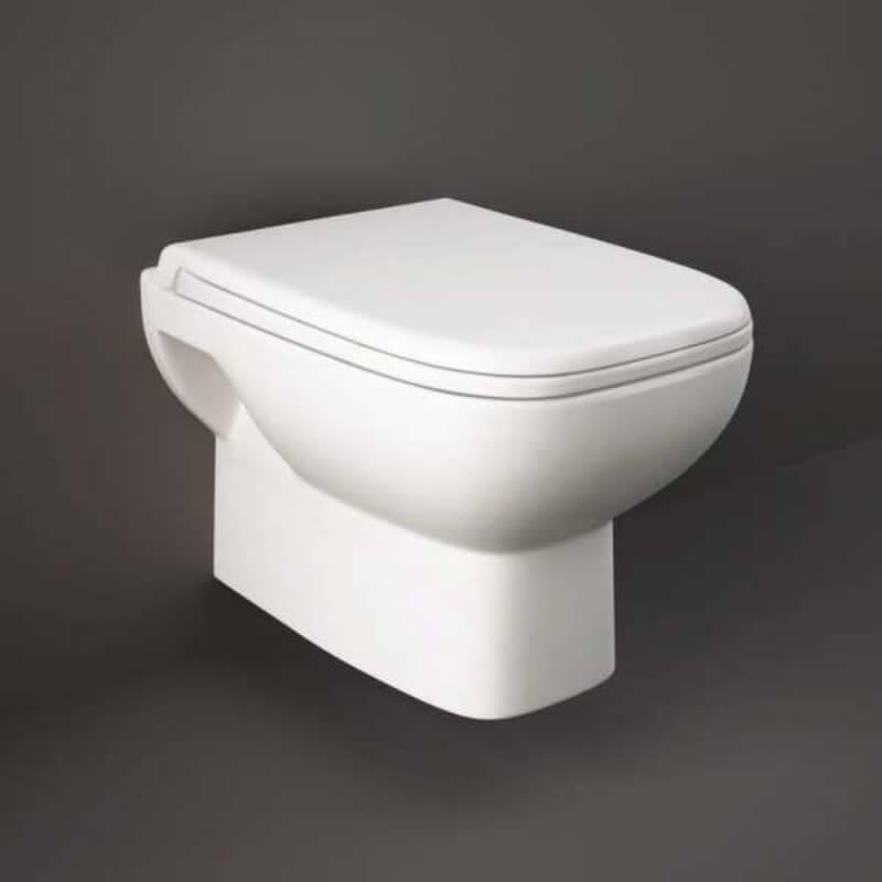RAK Origin Wall Hung Pan with Soft Close Urea Seat