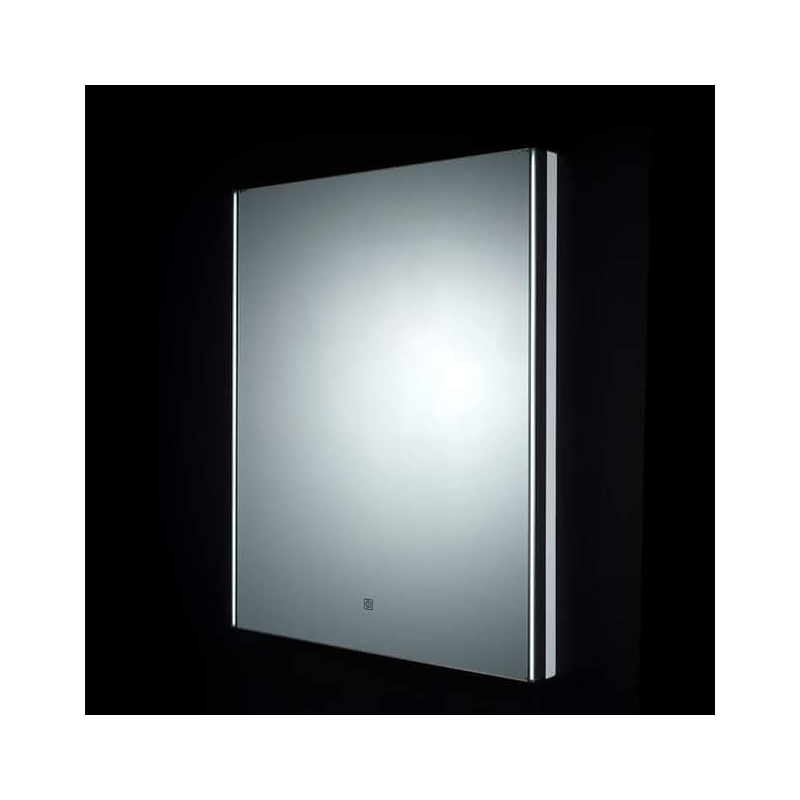 RAK Resort LED Mirror with Demister Pad & Shaver Socket 600x450mm