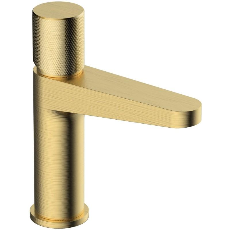 RAK Amalfi Standard Basin Mixer Brushed Gold