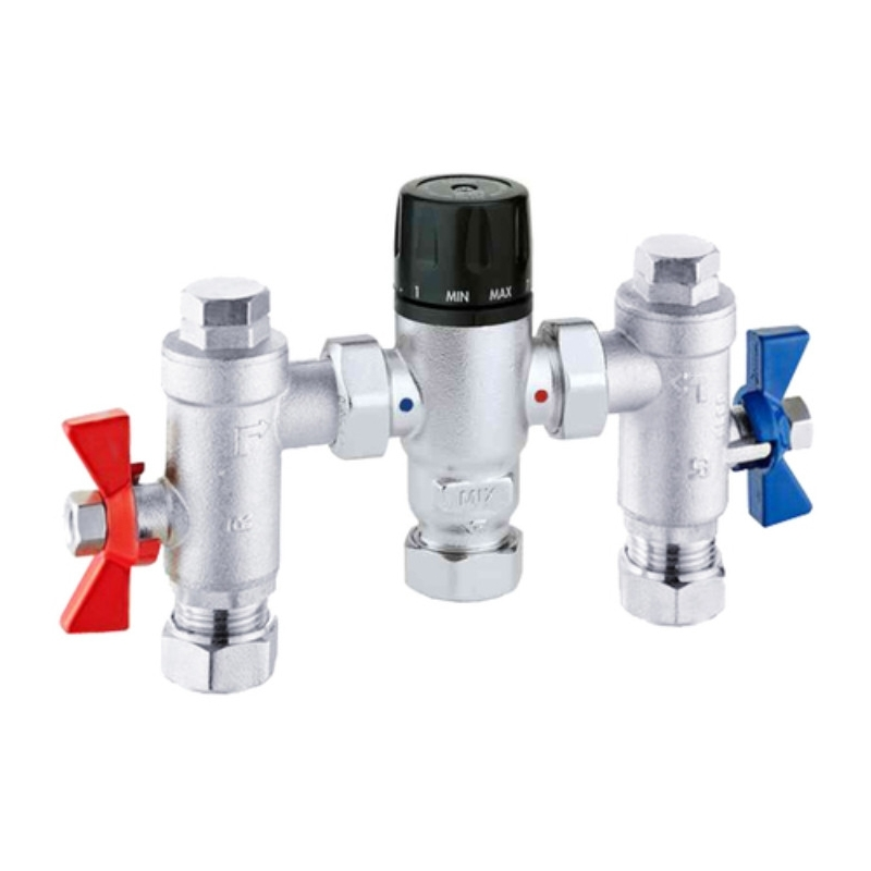 RAK Compact Commercial Thermostatic Mixing Valve 22mm