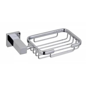 RAK Cubis Soap Basket Chrome