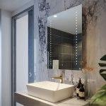 RAK Hestia 600x800mm Illuminated Portrait Mirror