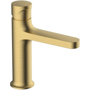 RAK Positano Standard Basin Mixer Brushed Gold