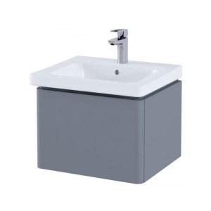 RAK Resort 55cm Single Drawer Basin Unit Matt Grey