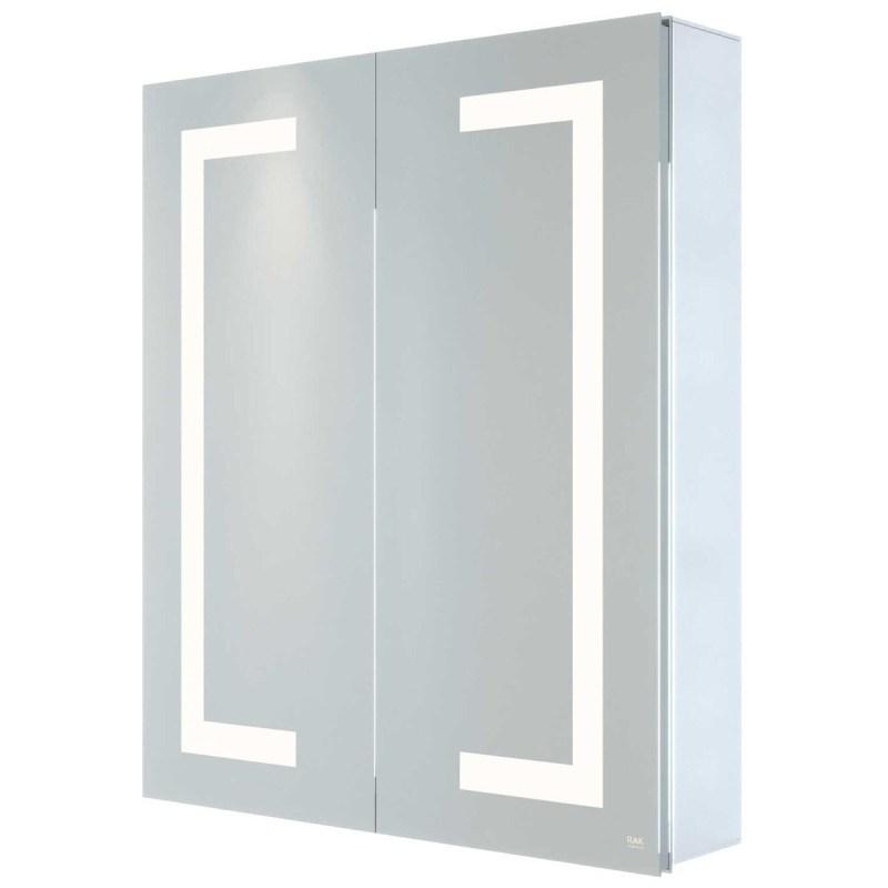 RAK Sagittarius 600x700mm Illuminated Mirrored Bluetooth Cabinet