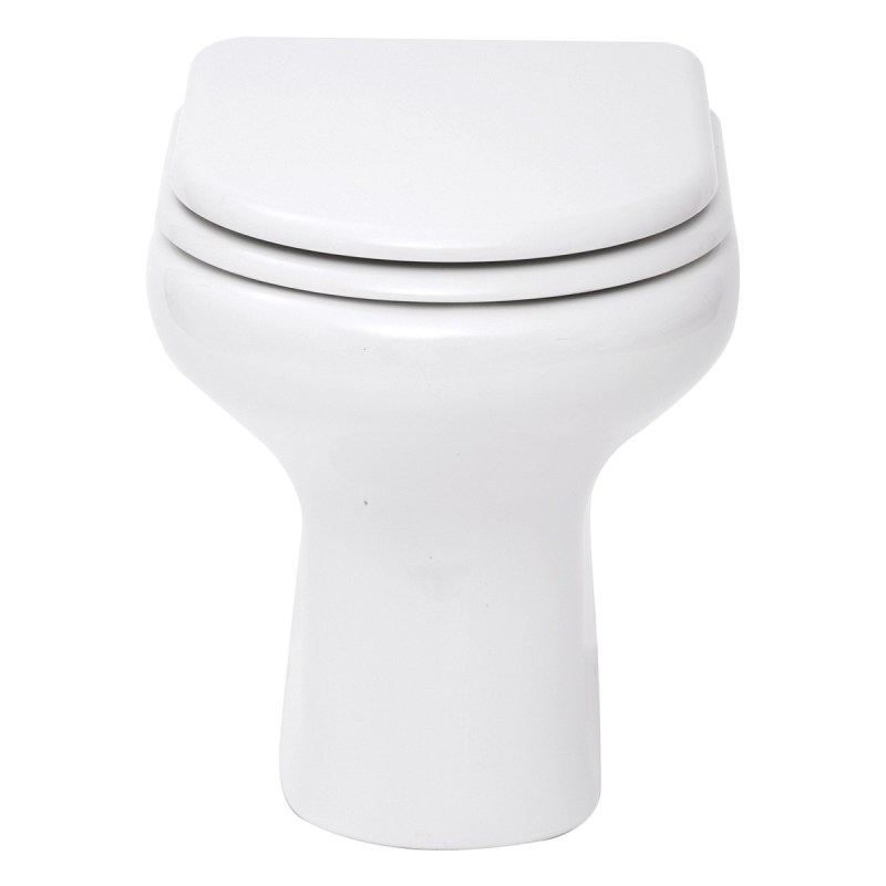 RAK Compact Back-to-Wall Toilet with Soft-Close Seat