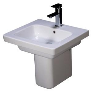 RAK Resort Semi Pedestal for 500/550mm Basin