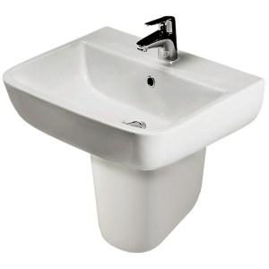 RAK Series 600 Semi Pedestal for 520mm Basin Only