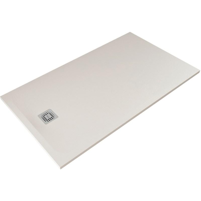 RAK Feeling 1600x900mm Shower Tray Greige