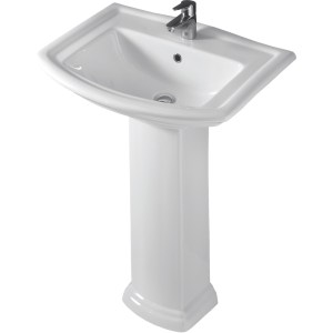 RAK Washington 650mm 1 Tap Hole Basin