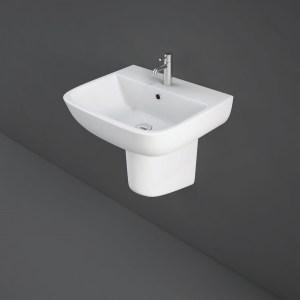 RAK Series 600 52cm Basin 1 Taphole