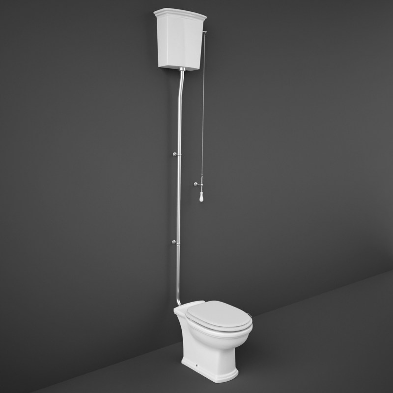 RAK Washington High Level WC with Matt White Seat
