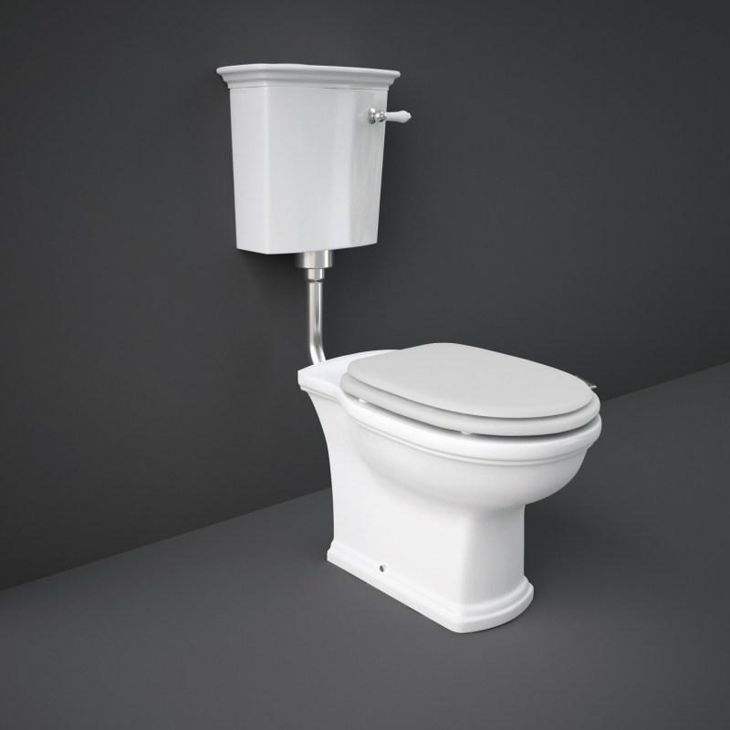 RAK Washington Low Level WC with Matt White Seat