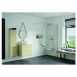 RefleXion Iconix Wetroom 300mm Rotatable Panel