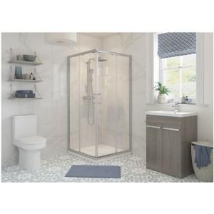 RefleXion Classix 760mm Corner Entry Shower Door