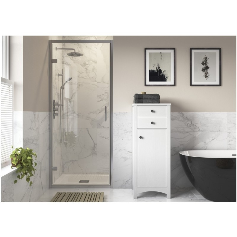 RefleXion Iconix Hinged Shower Door 900mm