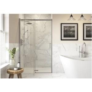 RefleXion Iconix Semi-Framed Sliding Shower Door 1200mm