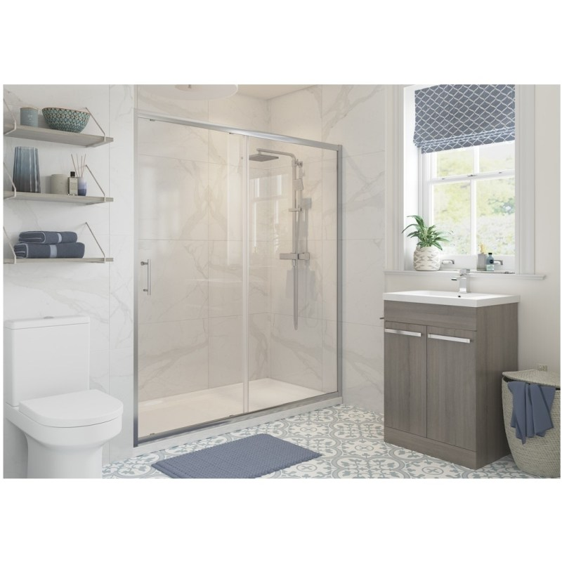 RefleXion Classix Framed 1700mm Sliding Shower Door