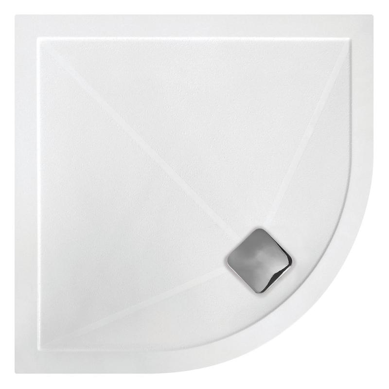 RefleXion Anti-Slip Ultra-Slim 1200x 800mm Offset Quadrant Tray Right