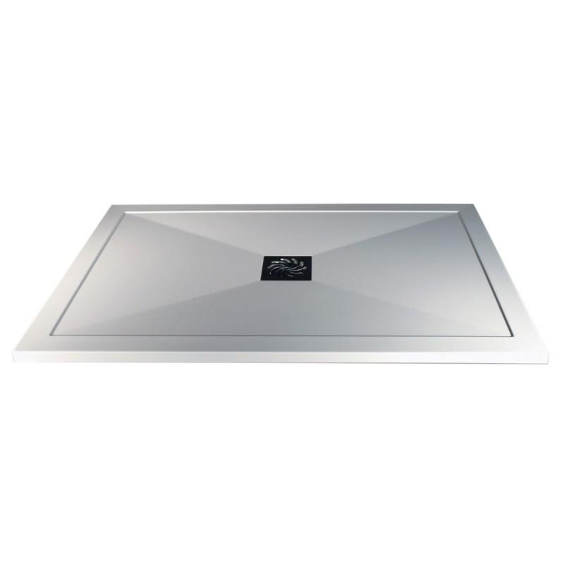RefleXion Ultra-Slim 1000x900mm Rectangular Tray & Waste
