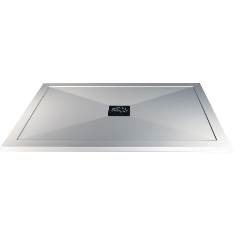 RefleXion 25mm Ultra-Slim 1200mm x 700mm Rectangular Tray & Waste