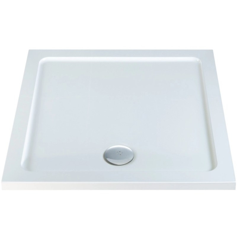 RefleXion 40mm Low Profile 800x800mm Square Tray & Waste