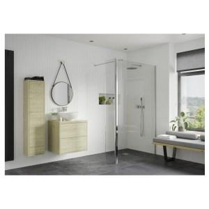 Reflexion Iconix 900mm Wetroom Panel & 300mm Rotatable Panel
