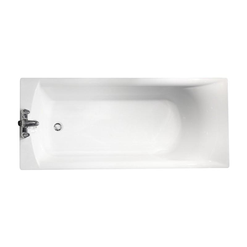 Roca Giralda 1700x750mm Bath & Legs Ungripped No Taphole White
