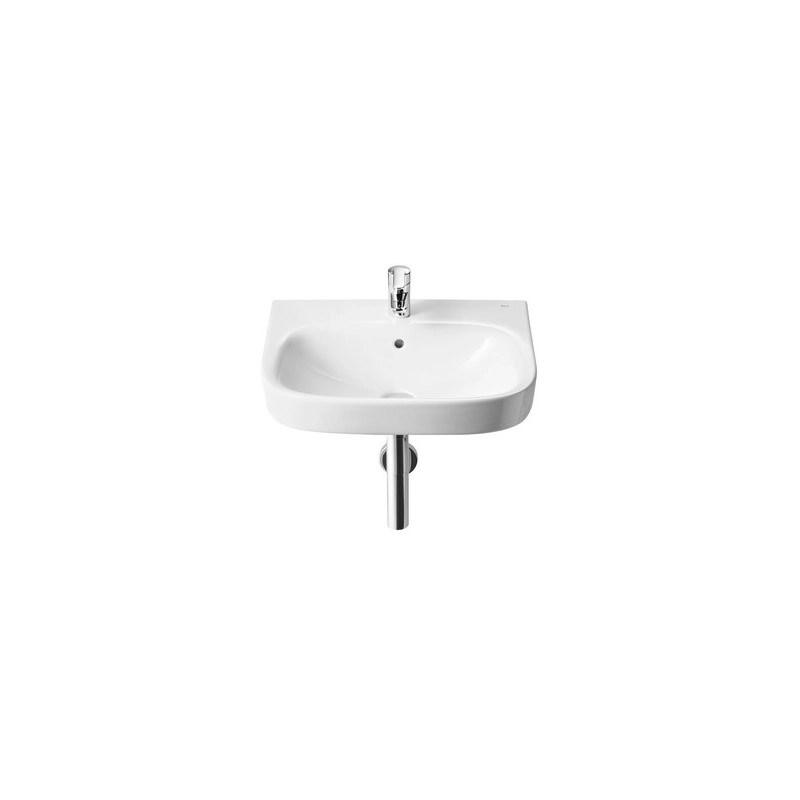 Roca Debba Wall Hung Basin 550x440mm 1 Taphole White