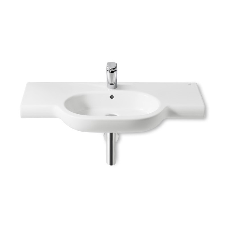 Roca Meridian-N Wall-Hung Basin with Ledge 1000 x 460mm 1TH