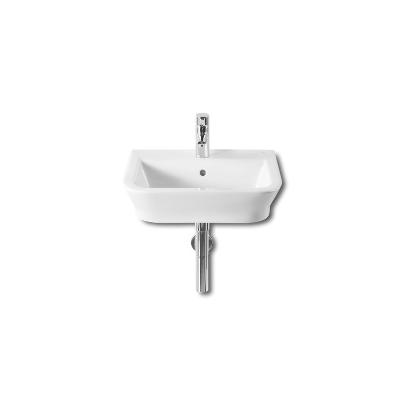 Roca The Gap Wall-Hung/On Countertop Basin 500 x 420mm 1 Taphole