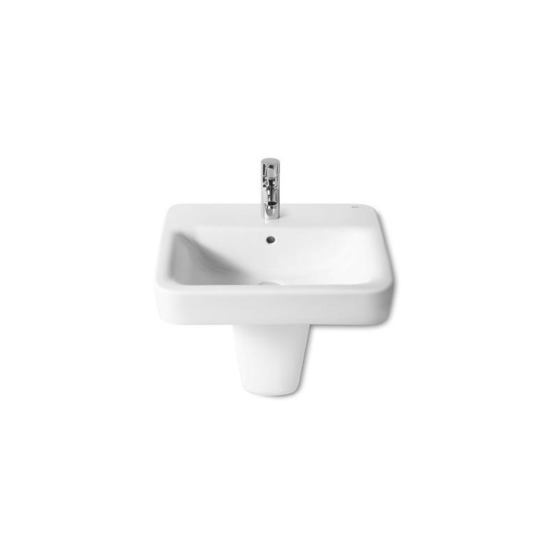 Roca Senso Square Vanity/Wall-Hung Basin 550 x 440mm 1 Taphole