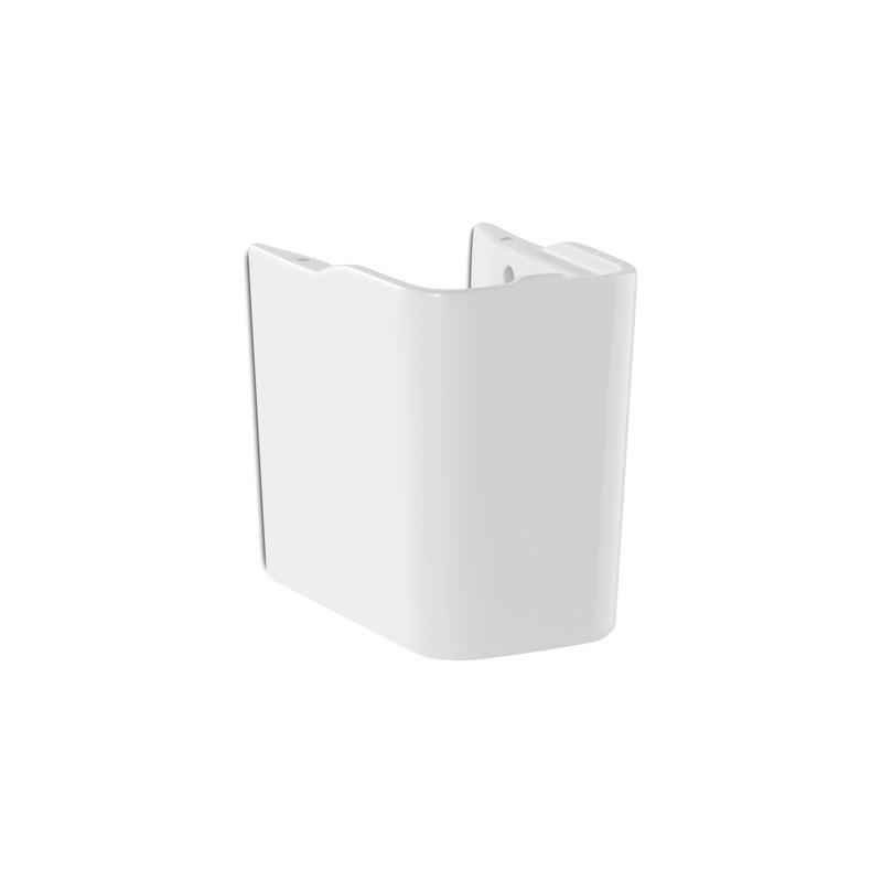 Roca The Gap Small Semi Pedestal for 400mm & 350mm Basins White